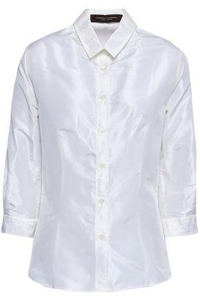 CAROLINA HERRERA Silk-taffeta shirt