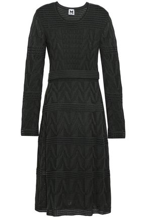 M MISSONI Crochet wool-blend dress