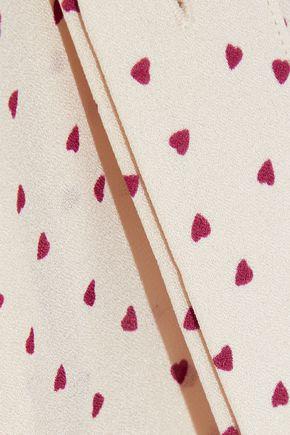 JOSEPH Carla printed silk crepe de chine tunic