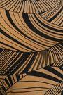 DE LA VALI Ruched printed silk-crepe top