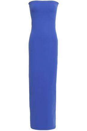 WOLFORD Strapless stretch-jersey midi dress