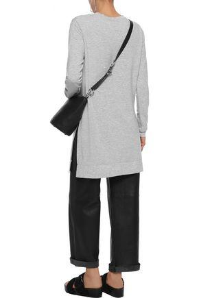 MAJESTIC FILATURES Mélange fleece tunic