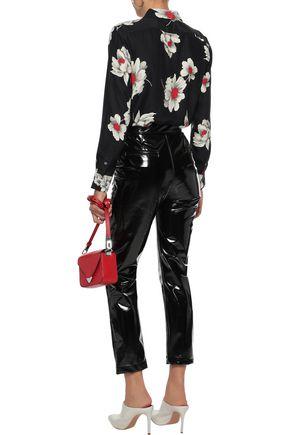 EQUIPMENT Leema floral-print washed-silk shirt