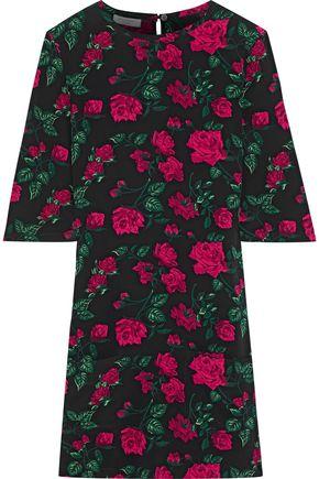 EQUIPMENT Aubrey floral-print washed crepe de chine mini dress