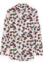 EQUIPMENT Slim Signature floral-print washed-silk shirt