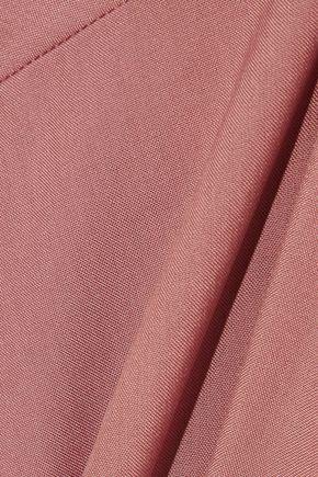 MARNI Tie-back gathered silk blouse