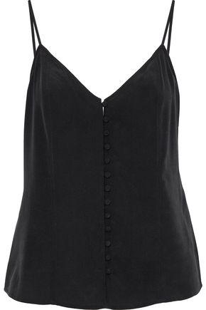 L'AGENCE Emilana washed-silk camisole