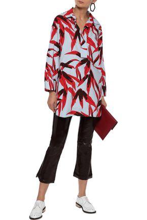MARNI Printed cotton-poplin tunic
