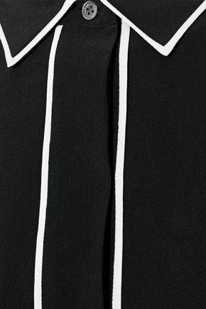 EQUIPMENT Felix washed-silk mini shirt dress