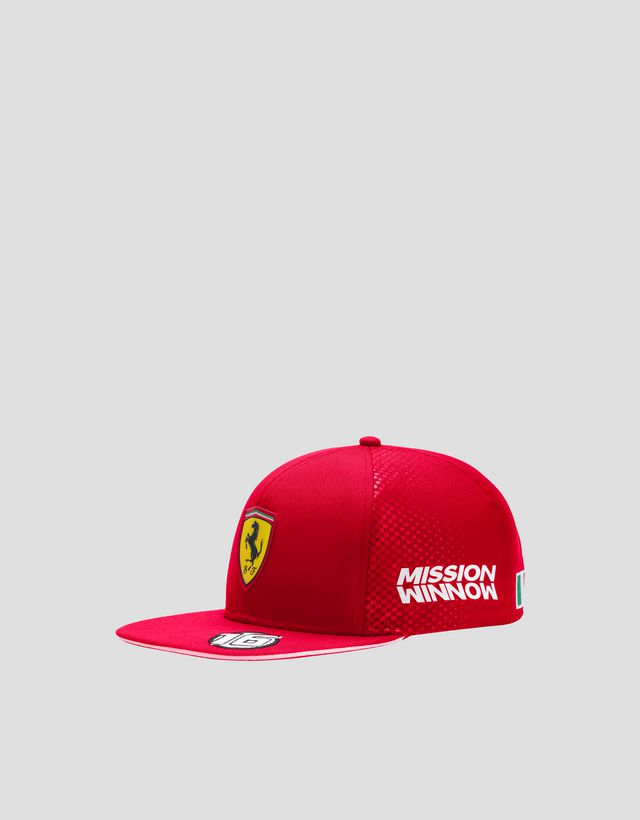 Scuderia Ferrari Online Store - 2019 Replica Leclerc cap - Baseball Caps ... 3d75cf16f4d6