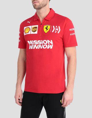 2019 Scuderia Ferrari Replica Team Polo Shirt 2019