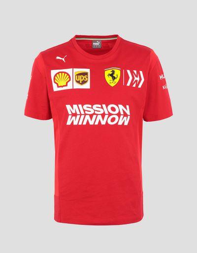 Scuderia Ferrari Online Store - Scuderia Ferrari 2019 Replica men's t-shirt - Short Sleeve T-Shirts