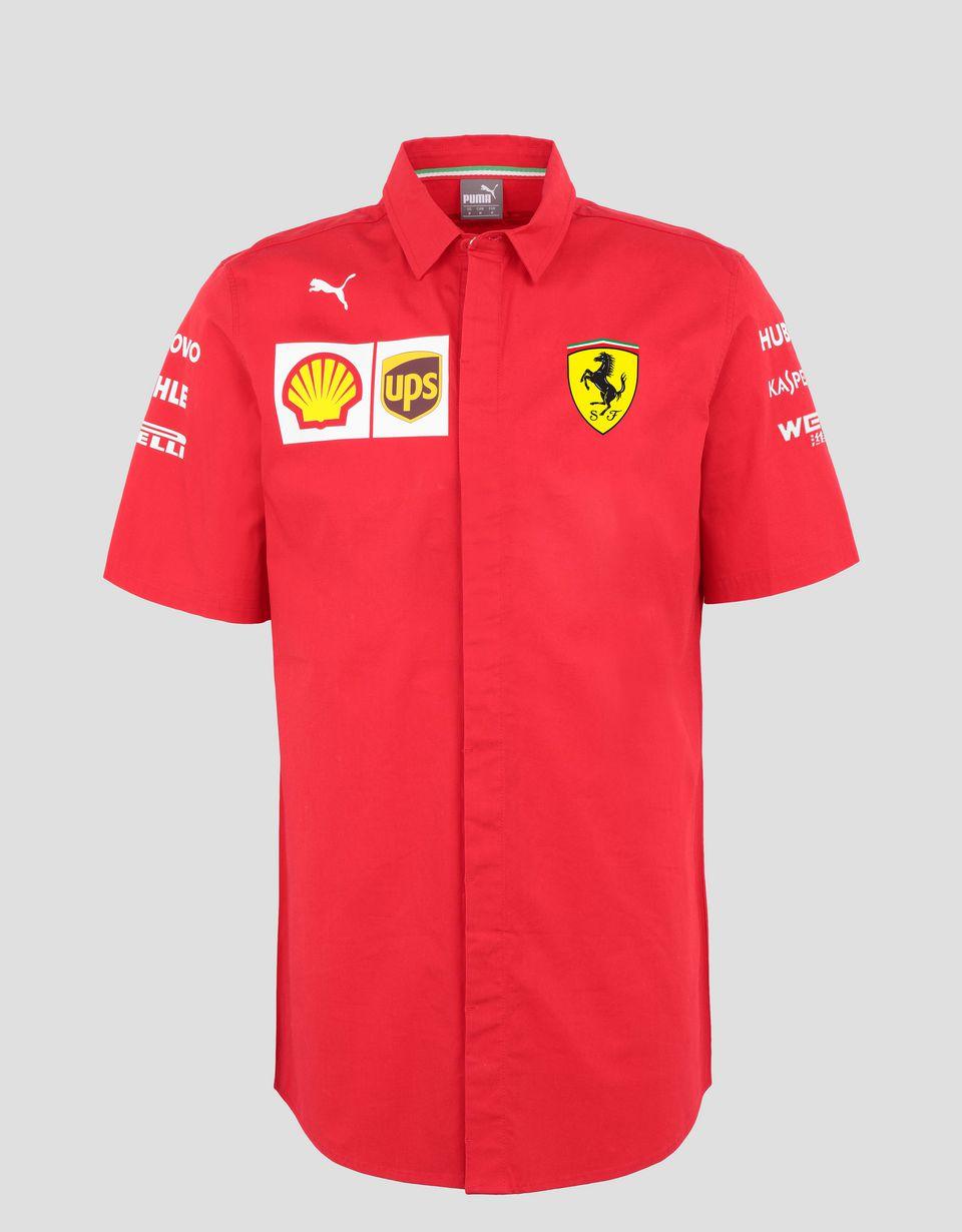 Scuderia Ferrari Online Store - Camicia Scuderia Ferrari Replica uomo 2019 - Camicie a Maniche Corte