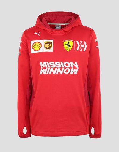 Scuderia Ferrari Online Store - Scuderia Ferrari 2019 Replica men's sweatshirt - Zip Sweaters