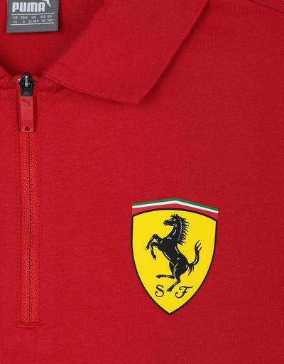 Scuderia Ferrari Online Store - Scuderia Ferrari 2019 Replica kids polo shirt - Short Sleeve Polos