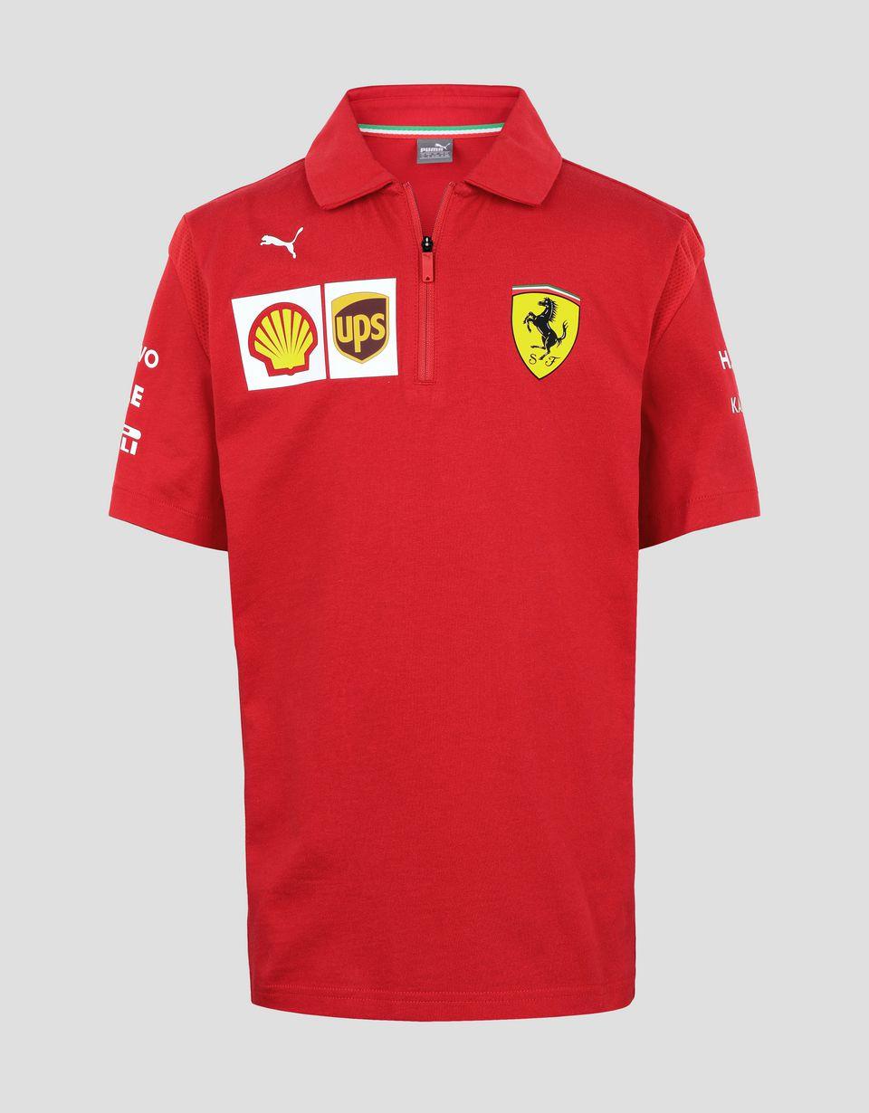 Scuderia Ferrari Online Store - Polo Scuderia Ferrari Replica de cadete 2019 - Polos de manga corta