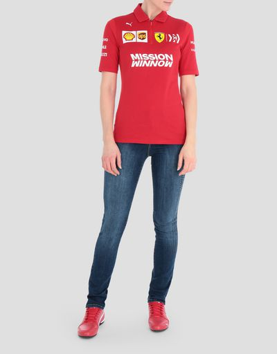 Scuderia Ferrari 2019 Replica women's polo shirt