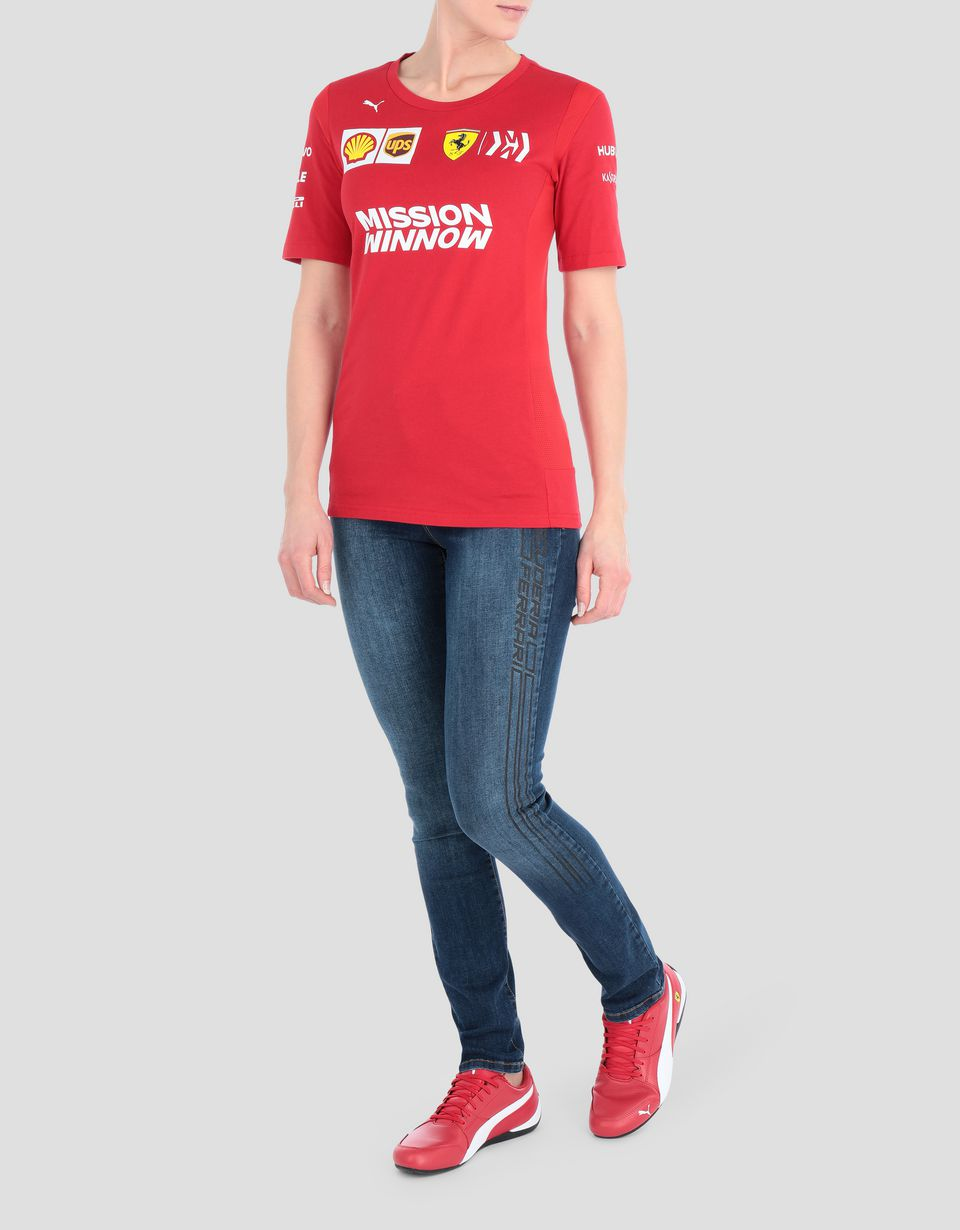 Scuderia Ferrari Online Store - Scuderia Ferrari 2019 Replica women's t-shirt - Short Sleeve T-Shirts