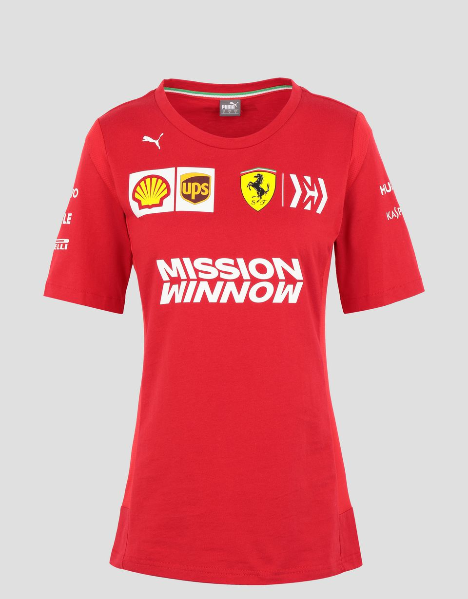 Scuderia Ferrari Online Store - T-shirt Scuderia Ferrari Replica femme 2019 - T-shirts à manches courtes