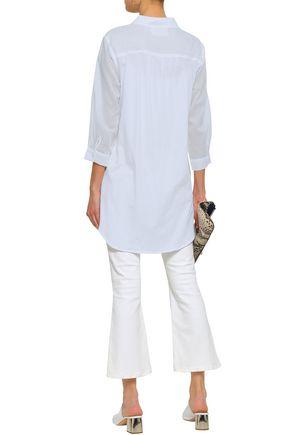 MAJESTIC FILATURES Cotton-gauze tunic