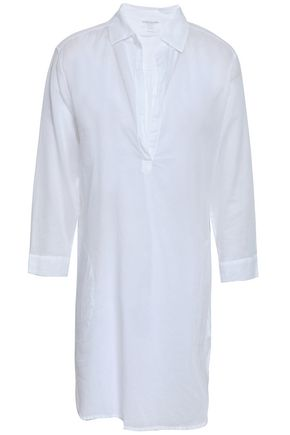MAJESTIC FILATURES Cotton-gauze tunic