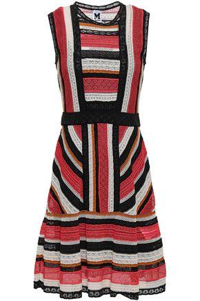fc0b984fe0d78b Striped crochet-knit mini dress | M MISSONI | Sale up to 70% off ...