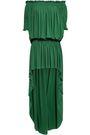 NORMA KAMALI Off-the-shoulder stretch-jersey mini dress
