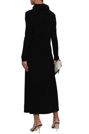 NORMA KAMALI Stretch-jersey turtleneck midi dress