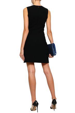 VICTORIA BECKHAM Stretch-crepe mini dress