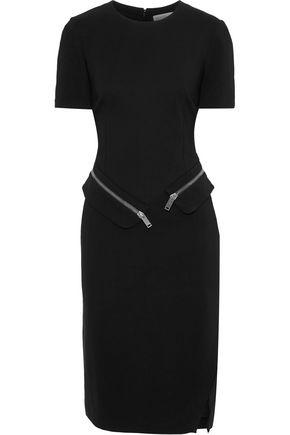 ALTUZARRA Zip-detailed crepe dress