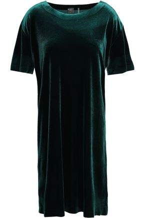 NORMA KAMALI Velvet mini dress