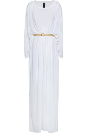 NORMA KAMALI Oversized stretch-jersey maxi dress