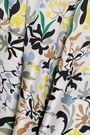ROBERT RODRIGUEZ Asymmetric floral-print twill dress