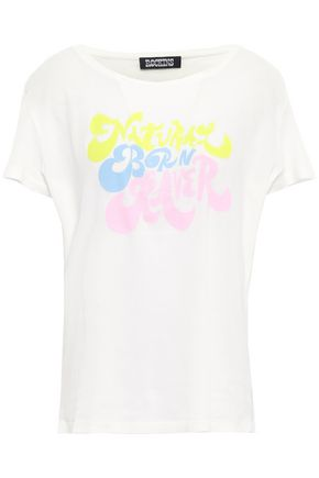 ROCKINS Printed cotton-jersey T-shirt