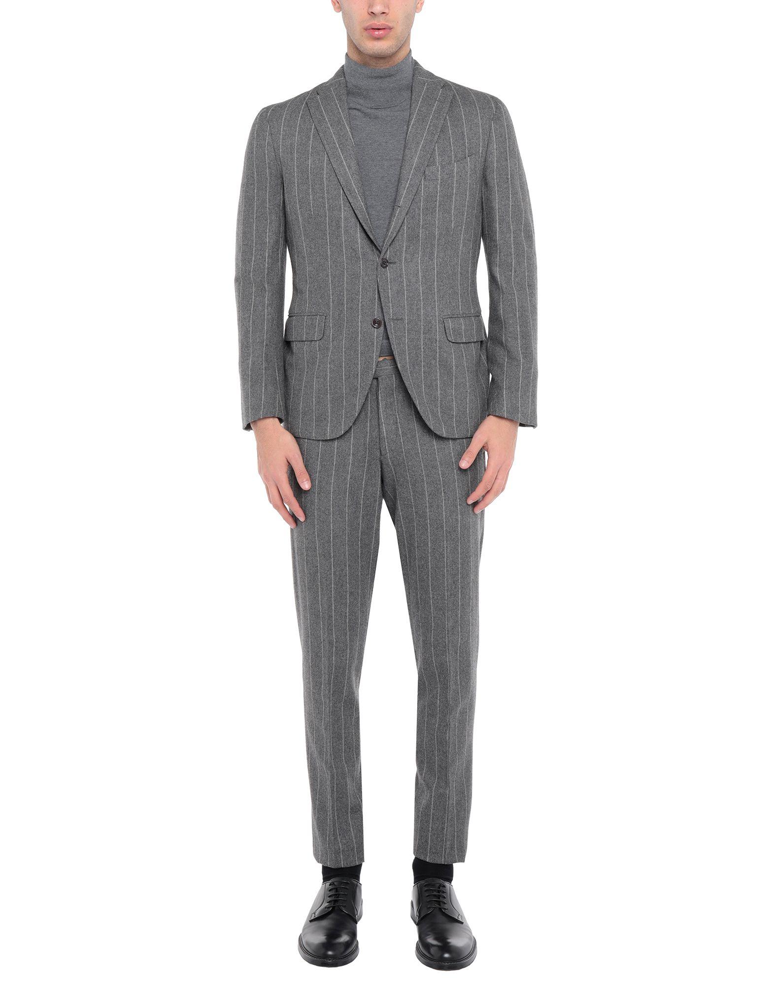 《セール開催中》BOGLIOLI メンズ スーツ グレー 54 ウール 100%