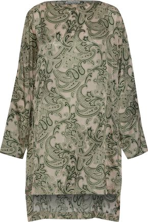 ACNE STUDIOS Brenda printed sateen dress
