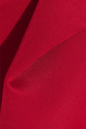 ADAM LIPPES Gathered silk crepe de chine blouse