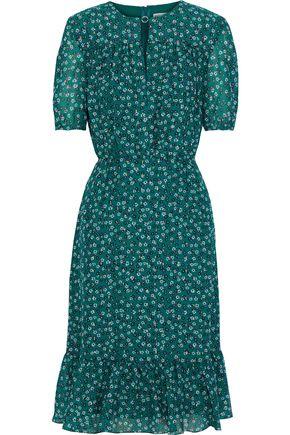 ALTUZARRA Laurel floral-print silk-blend crepe de chine dress