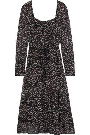 ALTUZARRA Isabel floral-print fil coupé silk-blend georgette midi dress