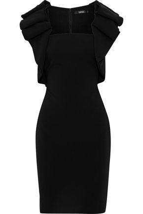 BADGLEY MISCHKA Ruffled cady dress