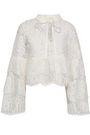 ROBERT RODRIGUEZ Cotton-blend lace blouse