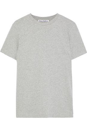 ACNE STUDIOS Taline mélange cotton-jersey T-shirt