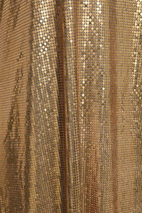 PACO RABANNE Chainmail slip dress
