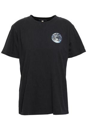 ALEXACHUNG Cotton-jersey T-shirt