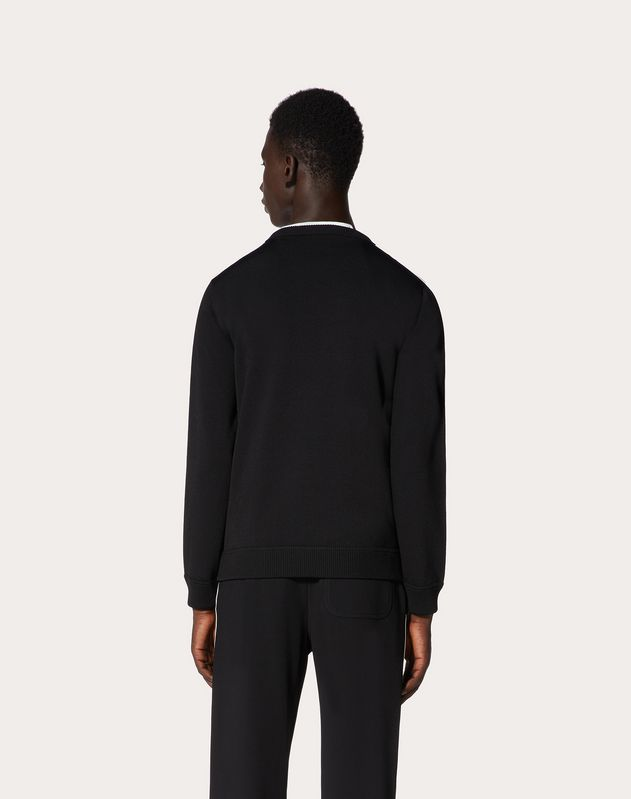 VISCOSE VLTN CREW-NECK JUMPER