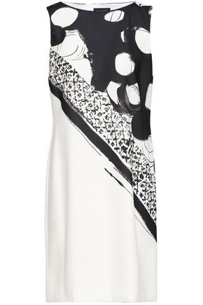 PIAZZA SEMPIONE Printed crepe dress