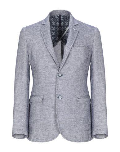 Купить Мужской пиджак GEAN.LUC темно-синего цвета