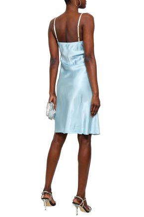 HELMUT LANG Satin slip dress