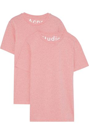 ACNE STUDIOS Taline set of two cotton-jersey T-shirts
