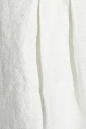 JOIE Jaklynn belted linen shorts